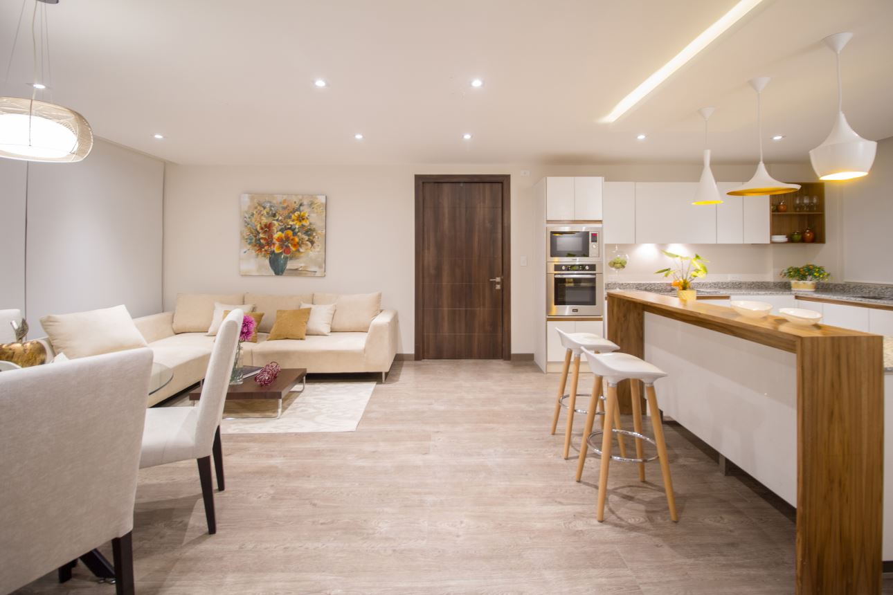Ab arquitectura dise o - Cocinas tipo loft ...